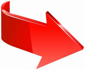 Right Arrow clipart png red