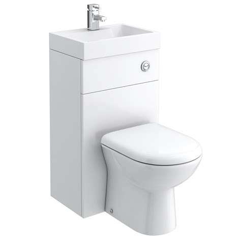 toilet and sink in one nova gloss white combined washbasin wc victorian