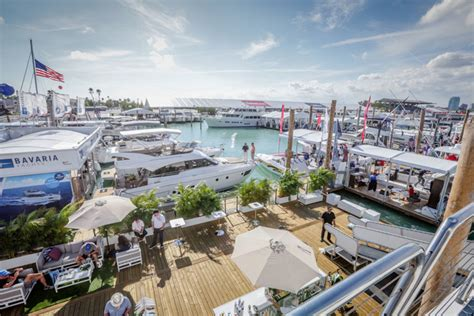 Miami Boat Show Water Taxi Locations by Miami Show Set To Display More Boats In The Water Murray