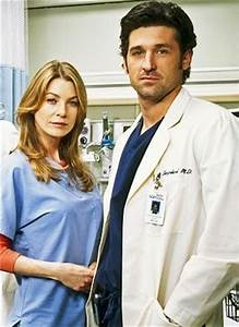 Derek shepherd, Meredith grey and Grey's anatomy on Pinterest