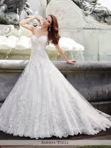 wedding gown dresses y21658 trevi tolli wedding dress