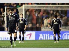 Real Madrid's 22 match winning run through Cristiano