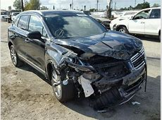 DamagedSalvageAccidental LINCOLN MKC car For Sale