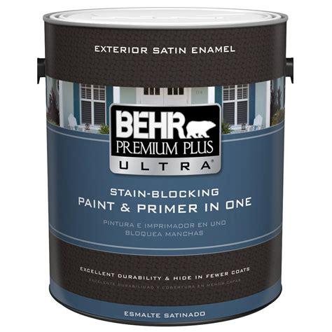 Behr Premium Plus Ultra 1 Gal Ultra Pure White Satin