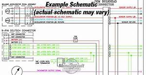 Allison 3000  4000 Wtec Iii Transmission Hydraulic  U0026 Wiring Schematic