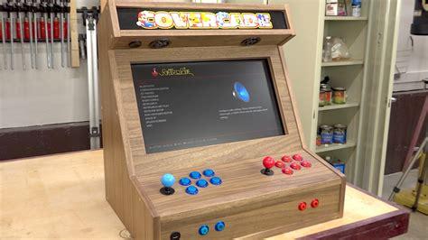raspberry pi arcade cabinet plans bartop arcade w raspberry pi the wood whisperer