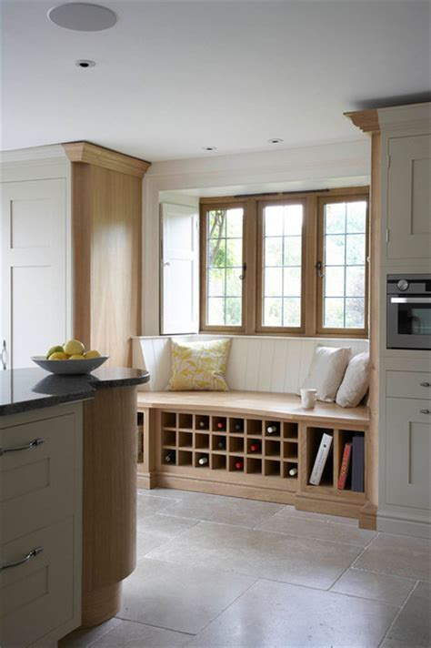 Painted Kitchens Window seat   Contemporary   Kitchen