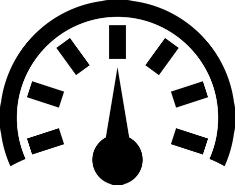 Speed Meter Svg Png Icon Free Download (#6465