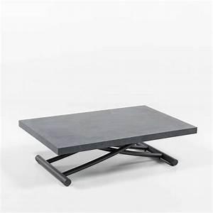 Table Basse Relevable Petit Espace En Mlamin Gniale