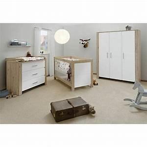 Chambre De Bébé Complete : chambre b b candeo bois naturel et blanc ~ Teatrodelosmanantiales.com Idées de Décoration