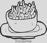 Cheese Coloring Macaroni sketch template