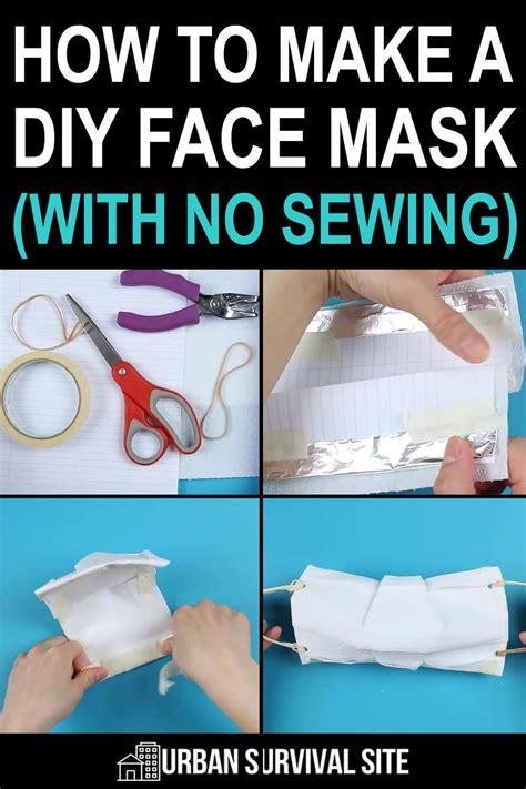 diy face mask   sewing urban