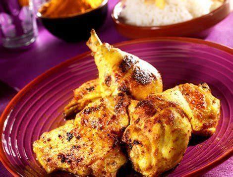 cuisiner du coq poulet mariné tandoori recette du quotidien maître coq