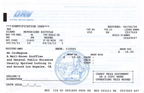 florida proof of vin form dmv motor vehicle registration impremedia net