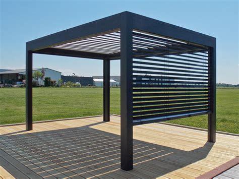 pergolas bioclimatiques standards et sur mesures installation maison du menuisier bois
