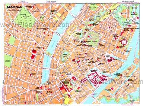 Copenhagen Map Detailed City And Metro Maps Of