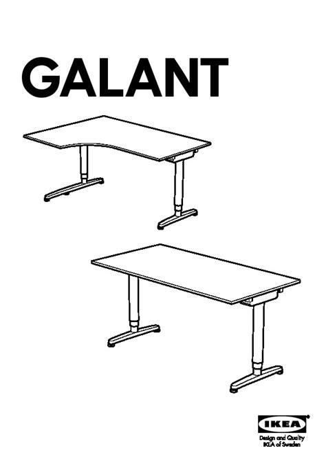 bureau ikea galant galant bureau assis debout gris ikea switzerland ikeapedia