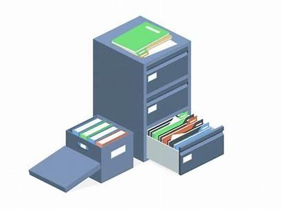 Documentos Arquivamento Vetores Gratis Armazenamento