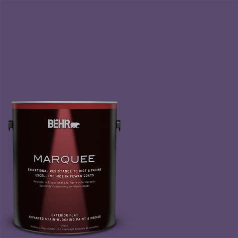 behr marquee 1 gal p570 7 proper purple flat exterior