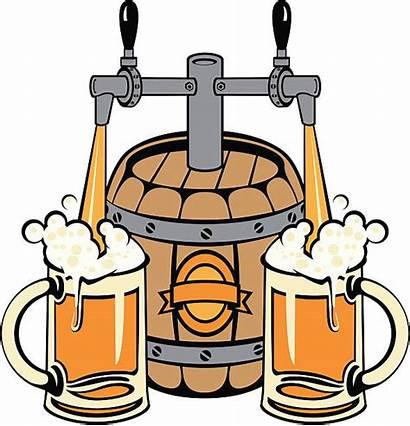 Beer Pouring Vector Clip Illustration Illustrations Similar