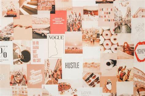diy collage wall aesthetic desktop wallpaper