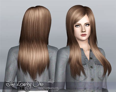 One Hair by Mod The Sims Quot The Lucky One Quot Hair Set For Females