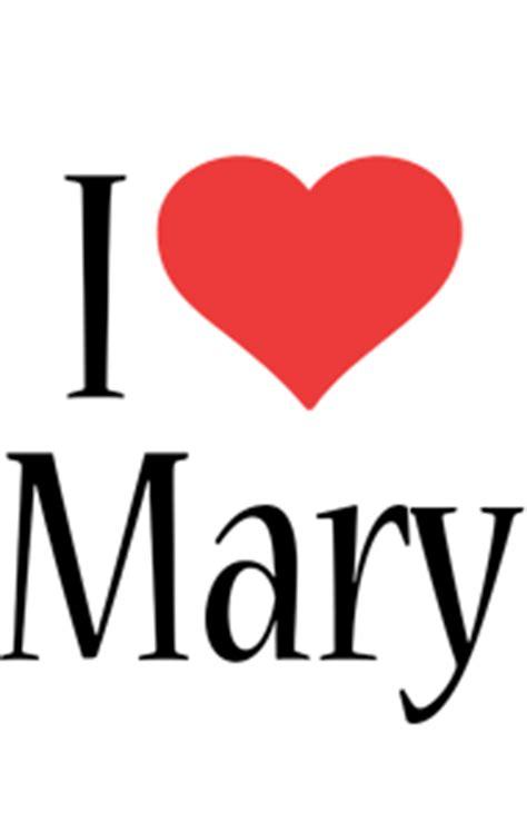 mary logo  logo generator  love love heart