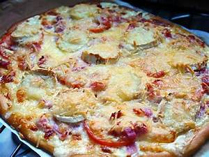 Recette Pizza Chevre Miel : recette de pizza lardons ch vre miel ~ Melissatoandfro.com Idées de Décoration