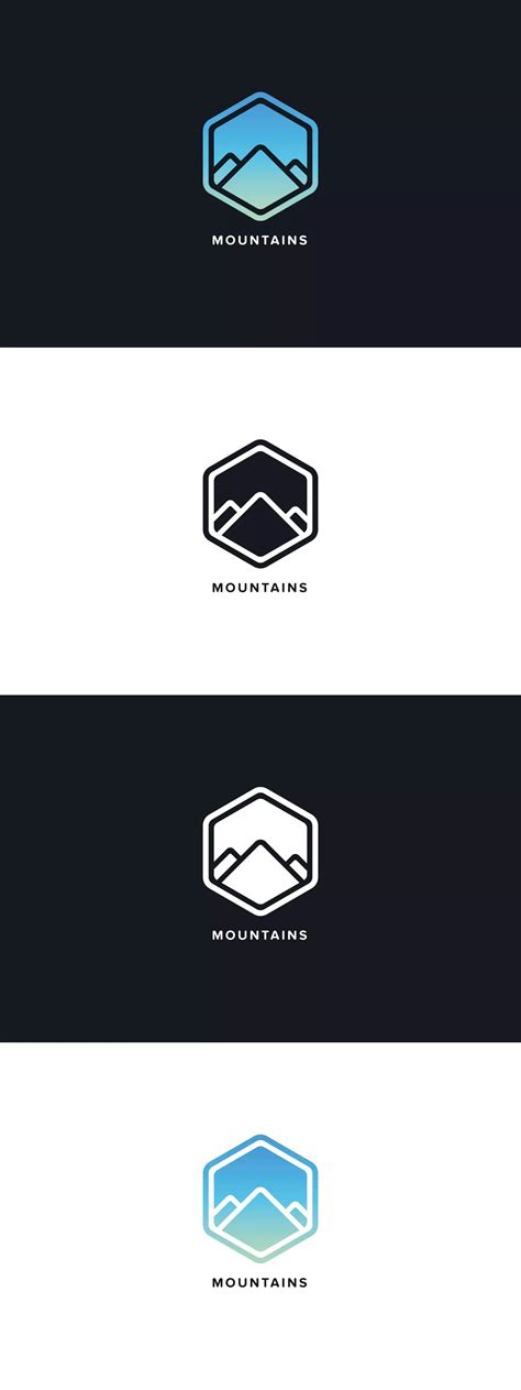 Mountains Logo Template by Pixasquare on Envato Elements ...