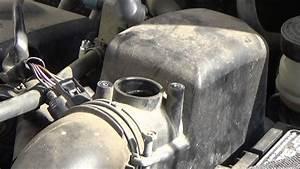 Replacing A Mass Air Flow  Maf  Sensor On A 2000 Toyota