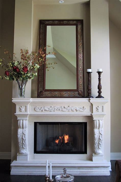 Fireplace Mantel Legs - fireplace mantels gallery omega mantels