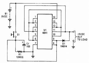 Battery Saver Circuit - Battery Charger