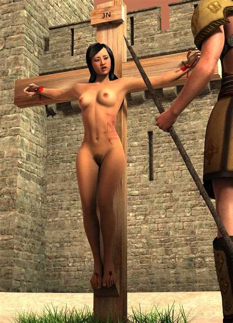 Crucified Woman Put To The Cross 23 Hentai Online Porn
