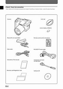 Pdf Manual For Olympus Digital Camera Camedia D
