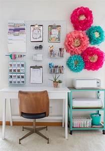 panneau perfore organisateur bureau rangement fournitures With kitchen colors with white cabinets with boule papier de soie