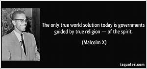 The Only True World Solution Today Is Governments Guided By True Religion  U2014 Of The Spirit