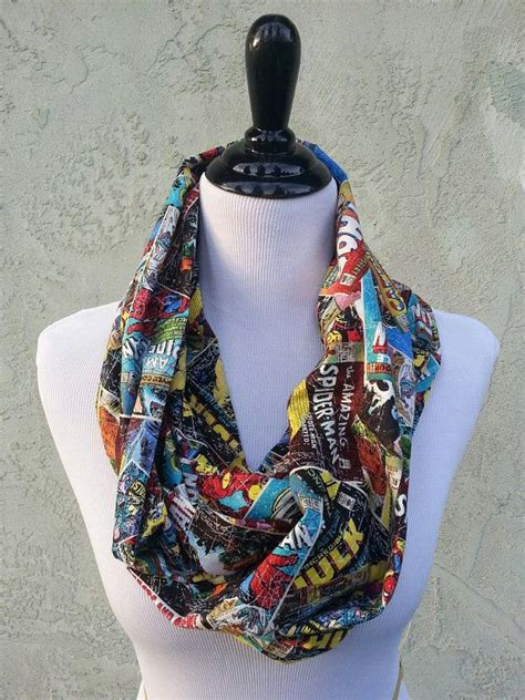 shabby fabrics infinity scarf marvel comic infinity scarf how could you not want marvel pinterest iron man infinity