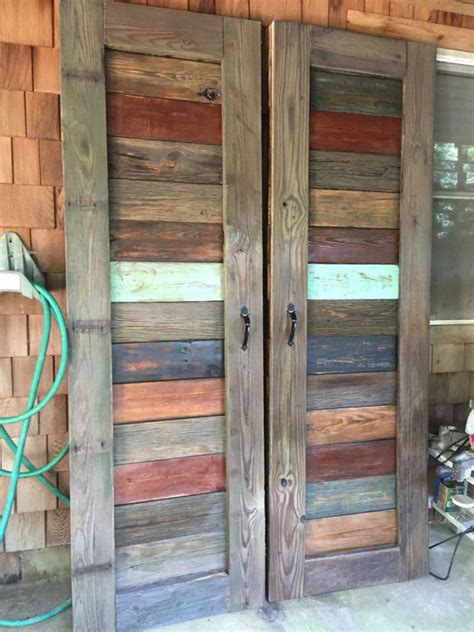 wood farmhouse barn door bookcase rustic farmhouse barn doors for doorways entertainment
