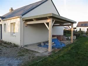 Construire Un Carport : pr au auvent carport constructions bois abri la romagne ~ Premium-room.com Idées de Décoration