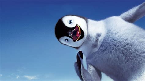 Wallpapers of christmas picture book polar christmas, penguin and. Happy feet smile the sky Penguin - Phone wallpapers