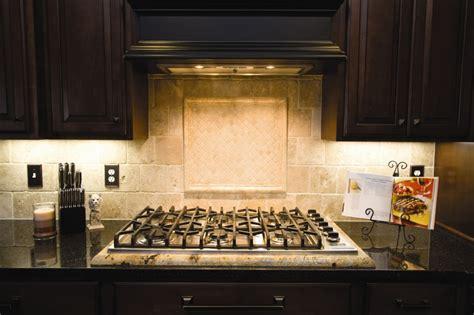 grey cabinets in kitchen backsplash with framed medallion granite 4057