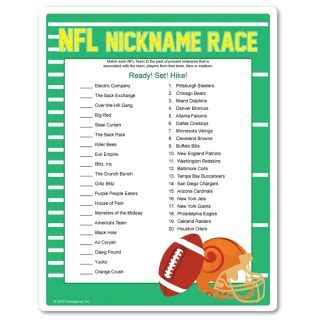 football party games trivia
