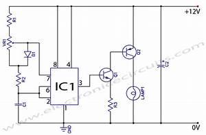 12v Dc Light Dimmer Circuit Using 555 Timer Ic