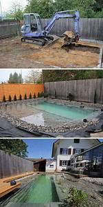 Pool Terrasse Selber Bauen : schwimmteich selber bauen 13 m rchenhafte gestaltungsideen garten pooldesign zenideen ~ Orissabook.com Haus und Dekorationen