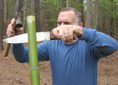 sensible survival build a bamboo survival bow in 30 minutes
