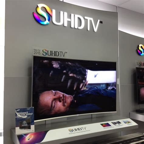 best buy tv ls design see the samsung suhd tv live now at best buy