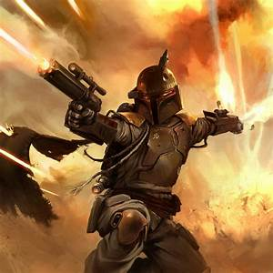 2D Art: Boba Fett - 2D Digital, Concept art, Photoshop ...