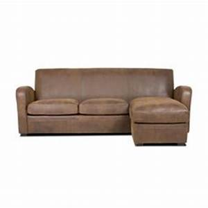 grand lodge 3 seater sofa bay leather republic With canapé marron cuir vieilli