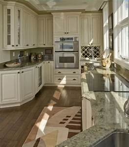 best 25 green granite countertops ideas on pinterest With kitchen colors with white cabinets with candles in glass holders