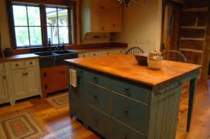primitive kitchen island central kentucky log cabin primitive kitchen eclectic kitchen louisville by the
